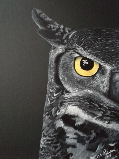 Night Owl. 2013. 12x16
