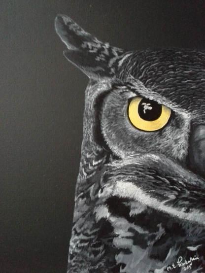 Night Owl. 2013. 12x16