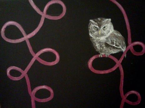A Certain Bird I know. 2012. 12x16