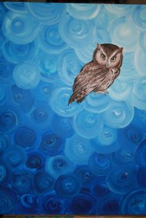 Blue Bird. 16x20