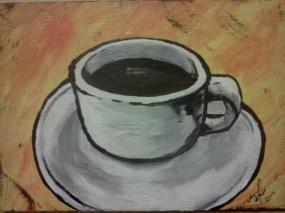 COZ-y Coffee. 2012. 4x6