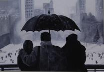 Winter in Central Park. 2005. 25x36