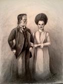 Frankensteins. 2013. Graphite sketch. 8x10